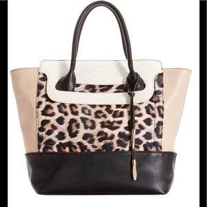 Carlos Santana Animal print Shoulder Bag EUC